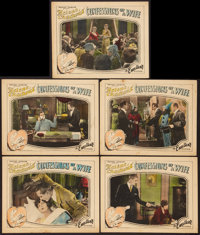 """Confessions of a Wife (Excellent, 1928). Lobby Cards (5) (11"""" X 14""""). Drama. ... (Total: 5 Items)"""