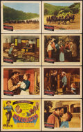 """Movie Posters:Western, Renegades (Columbia, 1946). Lobby Card Set of 8 (11"""" X 14""""). Western.. ... (Total: 8 Items)"""