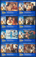 """Movie Posters:Science Fiction, Back to the Future (Universal, 1985). British Lobby Card Set of 8(11"""" X 14""""). Science Fiction.. ... (Total: 8 Items)"""