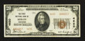 National Bank Notes:Wisconsin, Berlin, WI - $20 1929 Ty. 2 The First NB Ch. # 4620. ...