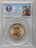 Presidential Dollars, (2007) $1 George Washington Missing Edge Lettering MS65 PCGS. PCGSPopulation (10127/3263). Numismedia ...