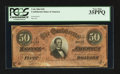 Confederate Notes:1864 Issues, Dark Red Tint T66 $50 1864.. ...