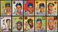Baseball Cards:Sets, 1954 Topps Baseball Partial Set (101/250) From the Original Collector! ...
