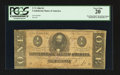 Confederate Notes:1864 Issues, Advertising Stamp T71 $1 1864.. ...