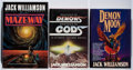 Books:Science Fiction & Fantasy, [Jerry Weist]. Jack Williamson. Group of Three Signed or Inscribed First Edition Books. 1979-1994. All in near fine or bette... (Total: 3 Items)
