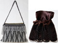 Luxury Accessories:Bags, Heritage Vintage: Set of two: Anna Trzebinski and HeatherCracken Vintage Beaded Bags. ... (Total: 2 Items)