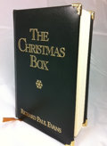 "Movie/TV Memorabilia:Memorabilia, Richard Paul Evans - ""The Christmas Box"" Gold Edition. Benefitting Mercury One . ..."