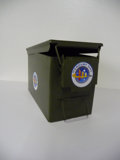 Movie/TV Memorabilia:Memorabilia, Smoking Gun - Ammunition Box. Benefitting Mercury One. ...