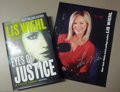 Movie/TV Memorabilia:Memorabilia, Lis Wiehl Coffe Shop Visit in NYC and Signed Books. BenefittingMercury One . ...