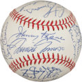 Baseball Collectibles:Balls, 1962 St. Louis Cardinals Team Signed Baseball (28 Signatures). ...