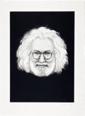 Music Memorabilia:Posters, Jerry Garcia by Grace Slick Limited Edition Print #231/300(undated)....