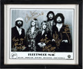 Music Memorabilia:Autographs and Signed Items, Fleetwood Mac Signed and Framed Photo. ...