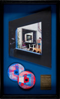 Music Memorabilia:Awards, Pink Floyd Echoes EMI-Odeon 100,000 Disc Sales Award (inSpanish). ...