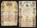 Confederate Notes:Group Lots, 1913 Treasury Department Dispersal Letter with Notes.. ... (Total:30 items)