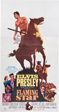 Memorabilia:Poster, Elvis Presley Flaming Star Movie Poster (20th Century-Fox,1960)....