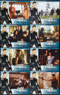 "Movie Posters:Adventure, Lara Croft: Tomb Raider (Paramount, 2001). Lobby Card Set of 8 (11""X 14""). Adventure.. ... (Total: 8 Items)"
