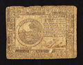 Colonial Notes:Continental Congress Issues, Continental Currency November 2, 1776 $6 Fine.. ...