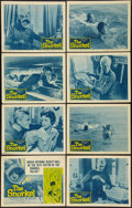 """Movie Posters:Thriller, The Snorkel & Others Lot (Columbia, 1958). Lobby Card Sets of 8 (2), Title Lobby Cards (5), Lobby Cards (19) (11"""" X 14""""), & ... (Total: 41 Items)"""