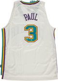 Basketball Collectibles:Uniforms, Chris Paul Signed New Orleans Hornets Jersey....