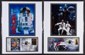 "Movie Posters:Science Fiction, Star Wars USPS Collector's Items (20th Century Fox, 1982). VariousItems (6) (4"" X 9.5"", 5.5"" X 8.5"", 6"" X 9"", 8.5"" X 11"" & ...(Total: 6 Item)"