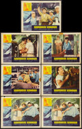 """Movie Posters:War, Submarine Seahawk & Others Lot (American International, 1958).Lobby Cards (39) (11"""" X 14""""). War.. ... (Total: 39 Items)"""
