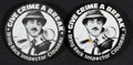 """Movie Posters:Comedy, The Return of the Pink Panther and Other Lot (United Artists, 1975). Promotional Buttons (2) (3""""), and One Sheet (27"""" X 41"""")... (Total: 3 Items)"""