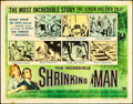 """Movie Posters:Science Fiction, The Incredible Shrinking Man (Universal International, 1957). HalfSheet (22"""" X 28"""") Style A. Science Fiction.. ..."""