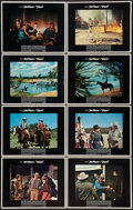 "Movie Posters:Western, Chisum (Warner Brothers, 1970). Lobby Card Set of 8 (11"" X 14"").Western.. ... (Total: 8 Items)"