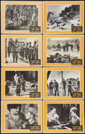 "Movie Posters:War, The Green Berets (Warner Brothers, 1968). Lobby Card Set of 8 (11""X 14""). War.. ... (Total: 8 Items)"