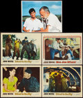 "Movie Posters:Adventure, Island in the Sky and Others Lot (Warner Brothers, 1953). LobbyCards (5) (11"" X 14""). Adventure.. ... (Total: 5 Items)"