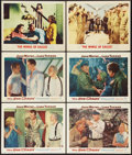 """Movie Posters:War, The Sea Chase and Other Lot (Warner Brothers, 1955). Lobby Cards(6) (11"""" X 14""""). War.. ... (Total: 6 Items)"""