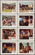 """Movie Posters:Western, The War Wagon (Universal, 1967). Lobby Card Set of 8 (11"""" X 14""""). Western.. ... (Total: 8 Items)"""
