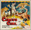 "Movie Posters:Adventure, Circus Girl (Republic, 1956). Six Sheet (80"" X 80""). Adventure....."