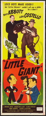 "Little Giant (Realart, R-1951). Insert (14"" X 36""). Comedy"