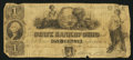 Obsoletes By State:Ohio, Columbus, OH- State Bank of Ohio at Franklin Branch Counterfeit $1Aug. 1, 1848 C478. ...