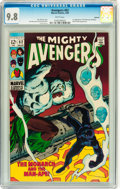 Silver Age (1956-1969):Superhero, The Avengers #62 Oakland pedigree (Marvel, 1969) CGC NM/MT 9.8 White pages....