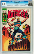 Silver Age (1956-1969):Superhero, The Avengers #63 Rocky Mountain pedigree (Marvel, 1969) CGC NM/MT 9.8 White pages....