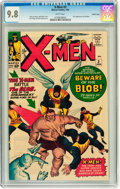 Silver Age (1956-1969):Superhero, X-Men #3 Pacific Coast pedigree (Marvel, 1964) CGC NM/MT 9.8 Whitepages....