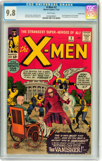 X-Men #2 Pacific Coast pedigree (Marvel, 1963) CGC NM/MT 9.8 White pages
