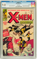 Silver Age (1956-1969):Superhero, X-Men #1 Pacific Coast pedigree (Marvel, 1963) CGC NM/MT 9.8 Whitepages....