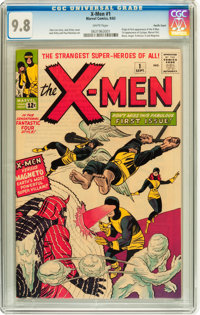 X-Men #1 Pacific Coast pedigree (Marvel, 1963) CGC NM/MT 9.8 White pages