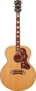 Musical Instruments:Acoustic Guitars, 2005 Gibson J-200LTD Pete Townshend Signature Model NaturalAcoustic Guitar, Serial # 00265024. ...
