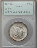 Commemorative Silver: , 1937 50C Texas MS65 PCGS. PCGS Population (639/436). NGC Census:(432/430). Mintage: 6,571. Numismedia Wsl. Price for probl...