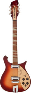 Musical Instruments:Electric Guitars, 2006 Rickenbacker 660/12 Tom Petty Signature Model Fireglo12-StringSolid Body Electric Guitar, Serial # A59680....