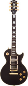 Musical Instruments:Electric Guitars, 2008 Gibson Les Paul Peter Frampton Limited Edition Black SolidBody Electric Guitar, Serial # # PF 510....