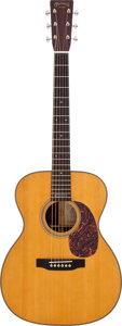 Musical Instruments:Acoustic Guitars, 2006 Martin 000-28EC Eric Clapton Signature Model Natural AcousticElectric Guitar, Serial # 1119879. ...