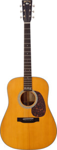 Musical Instruments:Acoustic Guitars, 2002 Martin D-18DC Natural David Crosby Signature Model AcousticGuitar, Serial # 879025...