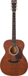 Musical Instruments:Acoustic Guitars, 2009 Martin 000-40Q2GN Graham Nash Signature Model Natural AcousticGuitar, Serial # 953483....