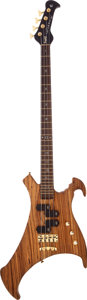 Musical Instruments:Bass Guitars, 2003 Warwick John Entwistle Limited Edition Buzzard NaturalElectric Bass Guitar, Serial # 2003/003....