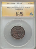 Argentina, Argentina: Buenos Aires 5/10 Real 1827,...